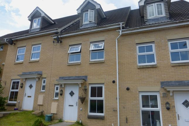 Thumbnail Town house for sale in St Davids Heights, Miskin, Pontyclun