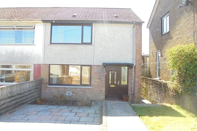 Thumbnail Semi-detached house for sale in Graiglwyd, Aberdare