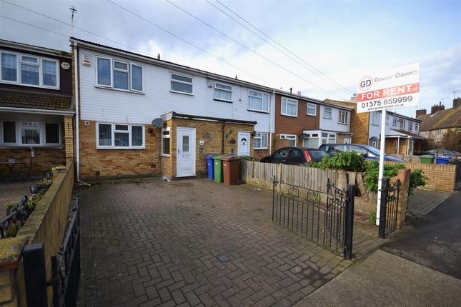 Thumbnail 3 bed terraced house to rent in Toronto Road, Tilbury