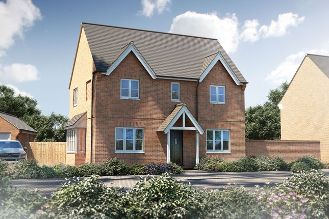 "Thumbnail Detached house for sale in ""The Bratton"" at Bishopsfield Road, Fareham"