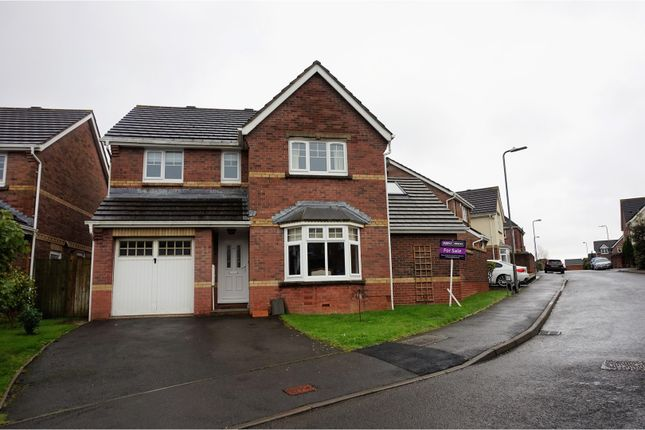 Thumbnail Detached house for sale in Fforest Drive, Barry