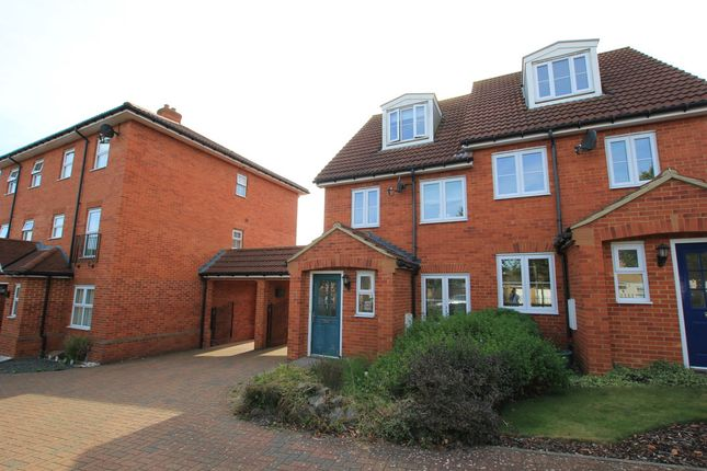 Thumbnail Semi-detached house to rent in Great Ashby Way, Stevenage