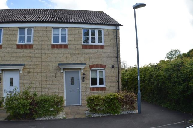 Thumbnail Terraced house to rent in Tanner Close, Westfield