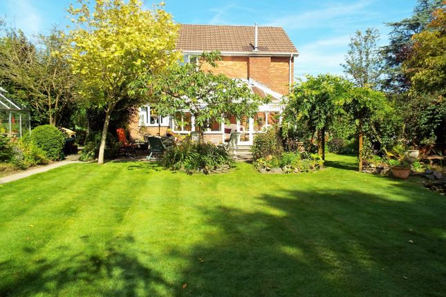 Thumbnail Detached house for sale in North Croft, Llangyfelach Road, Penllergaer, Swansea