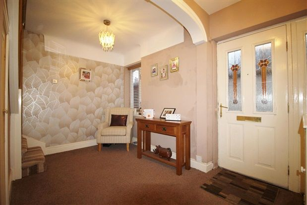 Entrance Hall of Yew Tree Road, Ormskirk L39