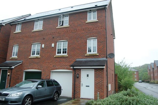 Thumbnail Town house to rent in Langbourne Close, Radcliffe, Manchester