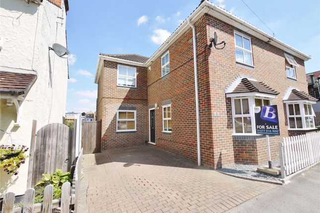 Thumbnail Semi-detached house for sale in Victoria Road, Warley, Brentwood, Essex