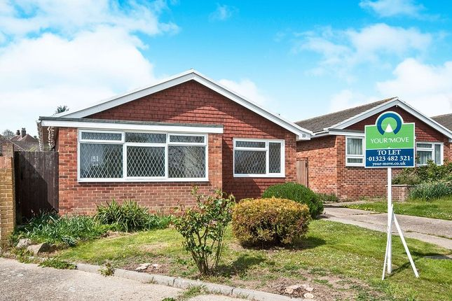 Thumbnail Bungalow to rent in Pinewood Close, Eastbourne