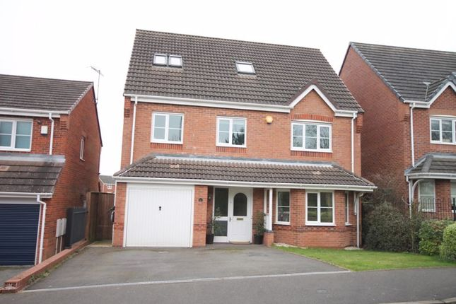 Thumbnail Detached house for sale in Galingale View, Newcastle-Under-Lyme