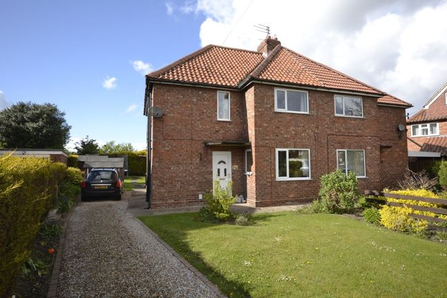 Thumbnail Semi-detached house for sale in North Moor, Huntington, York