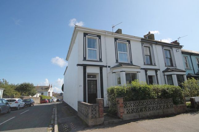 Thumbnail End terrace house to rent in Marlborough Road, Falmouth