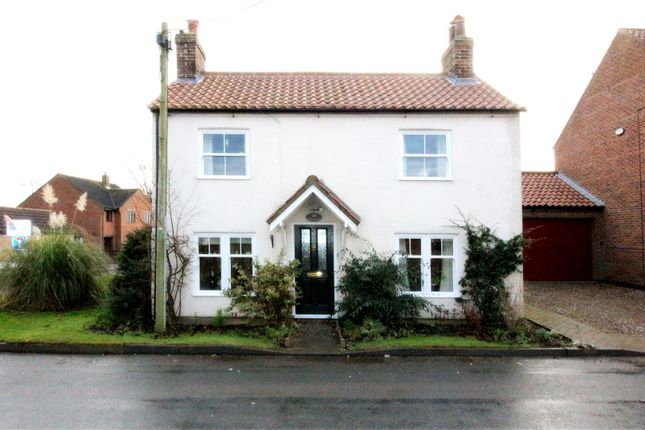 Thumbnail Detached house for sale in Station Road, Cranswick, Driffield