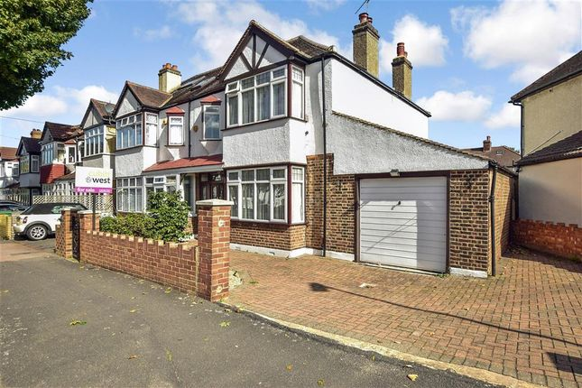 Thumbnail Semi-detached house for sale in Capel Avenue, Wallington, Surrey