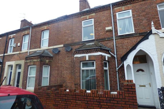 Thumbnail Terraced house for sale in Falmouth Road, Heaton, Newcastle Upon Tyne