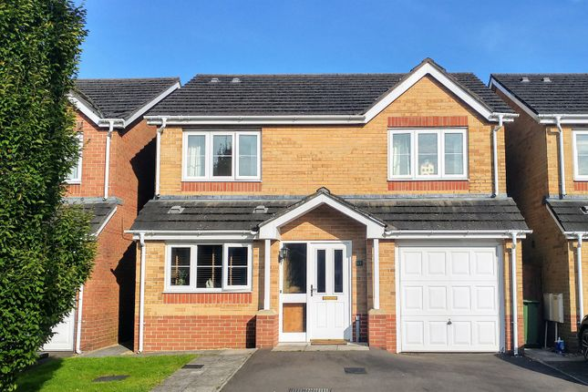 Thumbnail Detached house for sale in Sword Hill, Caerphilly