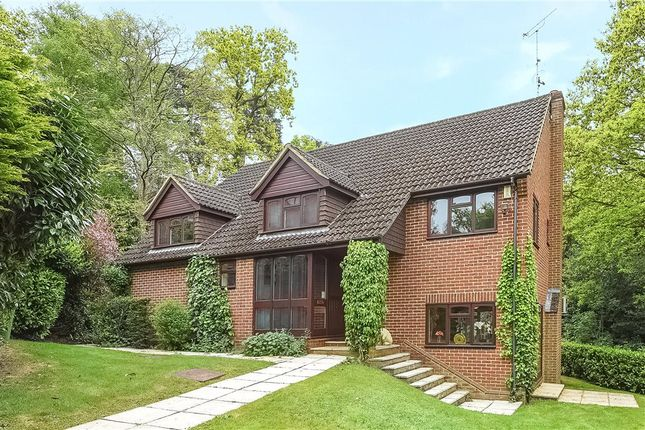 Thumbnail Detached house for sale in Whittle Close, Sandhurst, Berkshire
