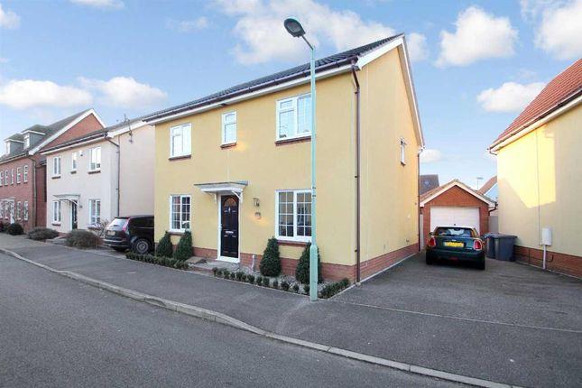 Thumbnail Detached house for sale in Spindler Close, Grange Farm, Kesgrave, Ipswich