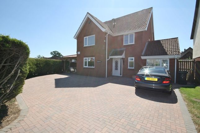 Thumbnail Detached house for sale in Blenheim Drive, Attleborough