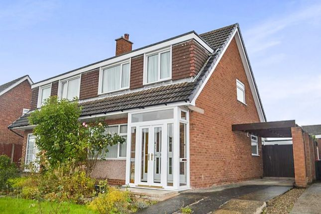 Thumbnail Semi-detached house to rent in Compton Green, Fulwood, Preston