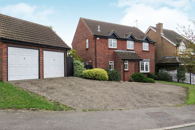Thumbnail Detached house for sale in Julian Close, Haverhill
