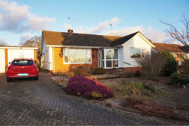 Thumbnail Detached bungalow for sale in Ashford Close North, Cwmbran
