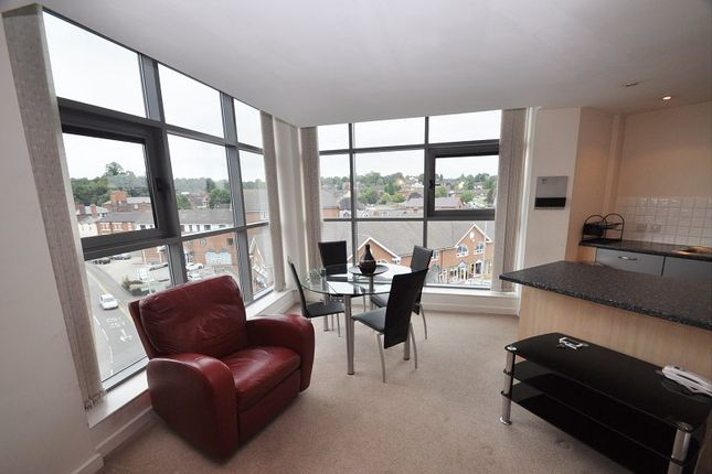 Thumbnail Flat for sale in Brunswick Court, Newcastle, Staffordshire