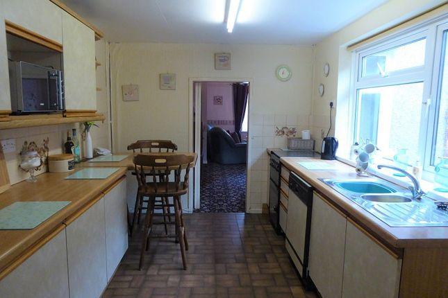 Kitchen of West Street, Aberkenfig, Bridgend, Bridgend County. CF32