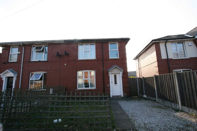 Thumbnail Semi-detached house to rent in Church Road, Newbold, Rochdale