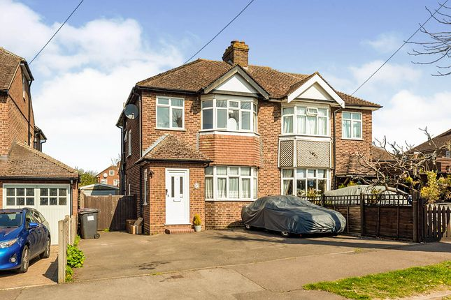 Thumbnail Semi-detached house for sale in Hampden Road, Hitchin, Hertfordshire