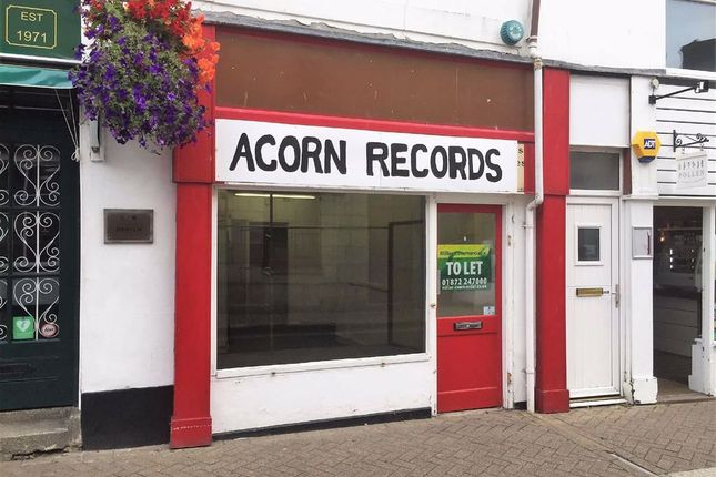 Thumbnail Retail premises to let in 108A, Kenwyn Street, Truro, Cornwall