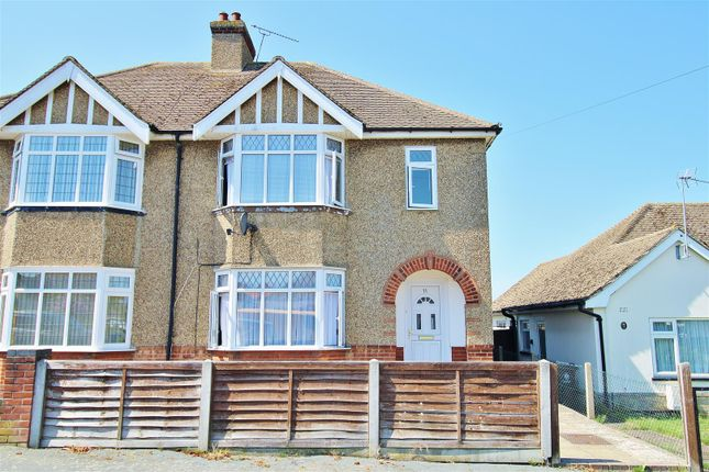 Thumbnail Semi-detached house to rent in Windermere Road, Holland-On-Sea, Clacton-On-Sea