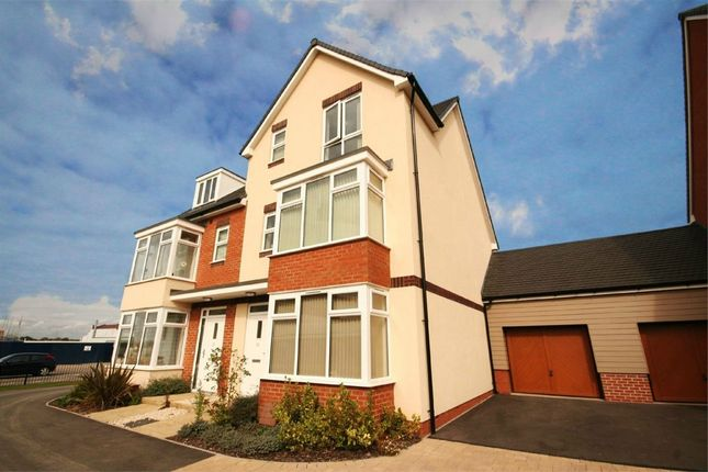 Thumbnail Semi-detached house for sale in Lyttelton Close, Edison Place, Rugby, Warwickshire