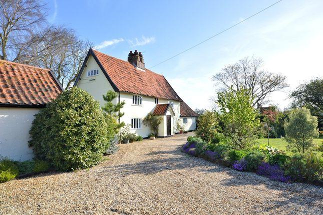 Thumbnail Detached house for sale in Low Road, North Tuddenham, Dereham