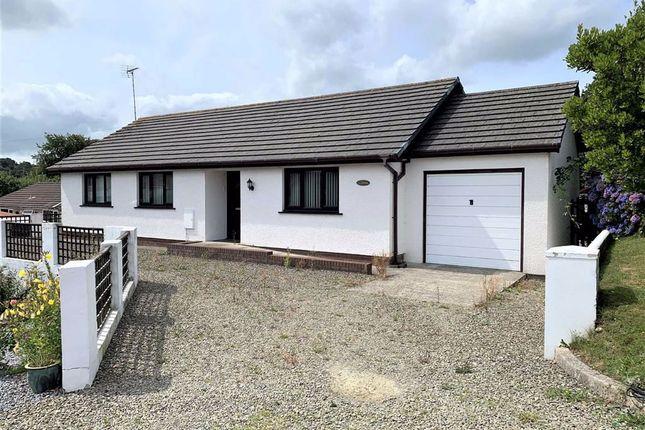 Thumbnail Detached bungalow for sale in Maes Dafydd, Llanarth, Ceredigion
