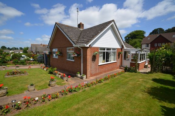 Thumbnail Detached bungalow for sale in Little Down Orchard, Newton Poppleford, Sidmouth
