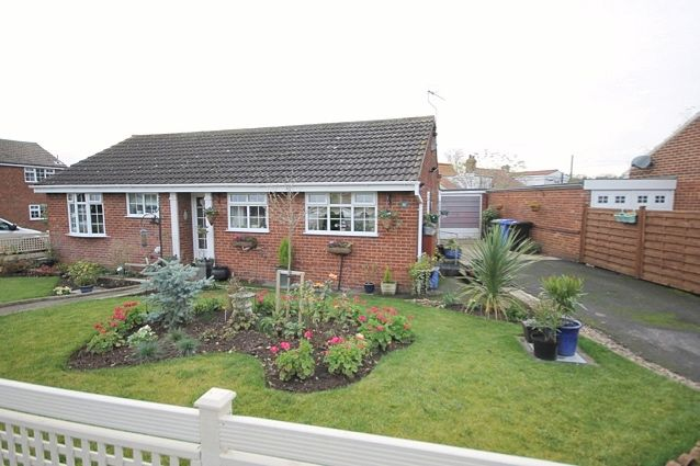 3 bed bungalow for sale in Wrangham Drive, Hunmanby, Filey