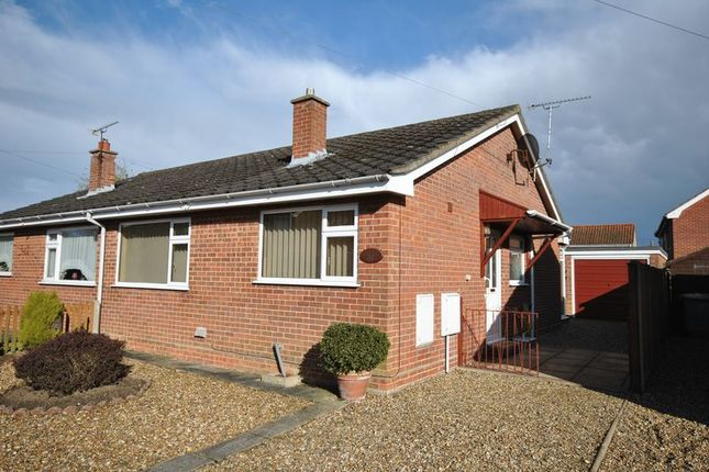 Thumbnail Semi-detached house for sale in Church View Close, Sprowston, Norwich