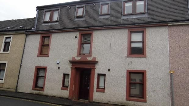 Thumbnail Flat for sale in Nelson Street, Largs