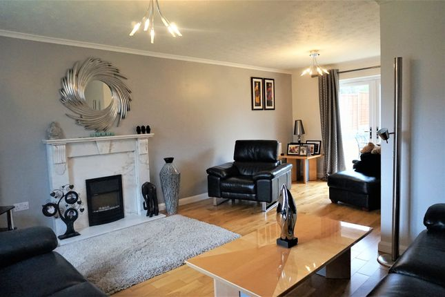 Thumbnail Detached house for sale in Clinton Close, Swindon, Wiltshire