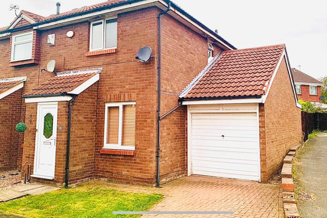 Thumbnail Semi-detached house for sale in Sunnybrow, New Silksworth, Sunderland