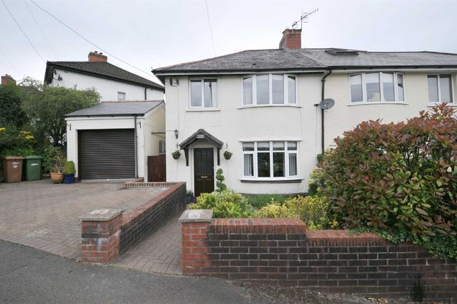 Thumbnail Semi-detached house for sale in St. Martins Crescent, Caerphilly