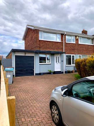 Semi-detached house for sale in Glenmore, Consett