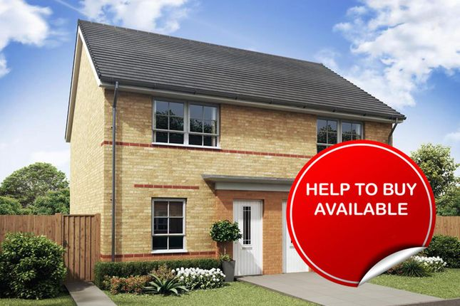 "Thumbnail End terrace house for sale in ""Kenley"" at Coulson Street, Spennymoor"