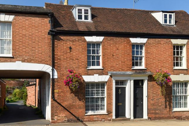 Thumbnail Terraced house for sale in St. Nicholas Church Street, Warwick