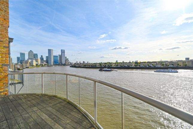 3 bed flat for sale in Roneo Wharf, 26 Narrow Street, Limehouse, London E14