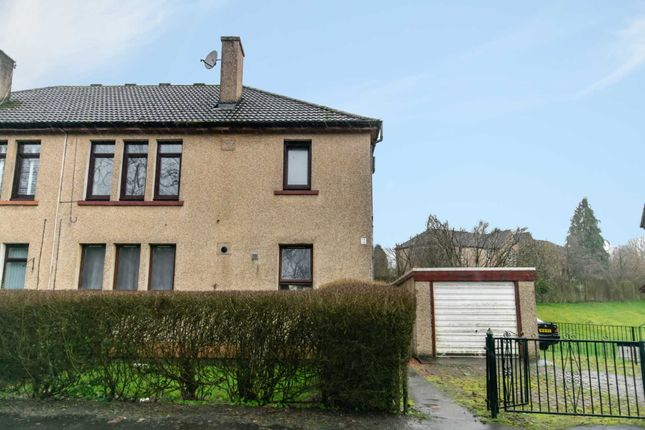 Thumbnail 1 bed flat for sale in Ritchie Crescent, Elderslie