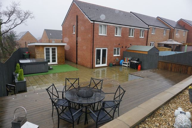 Thumbnail Semi-detached house for sale in Heol Cae Pownd, Cefneithin, Llanelli