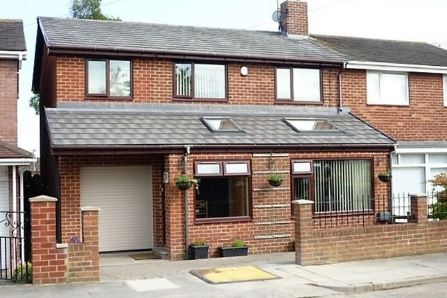 Thumbnail Semi-detached house for sale in Acomb Avenue, Seaton Delaval, Whitley Bay