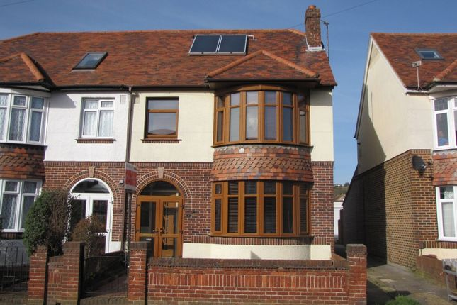 Thumbnail Semi-detached house for sale in Dysart Avenue, Drayton, Portsmouth