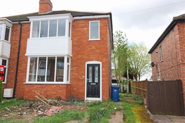 3 bed semi-detached house for sale in Barcliffe Avenue, Glascote, Tamworth, Staffordshire